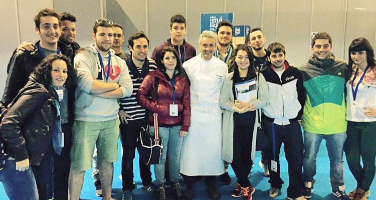 Fernando en el Congreso Encuentros con Sabor a Málaga